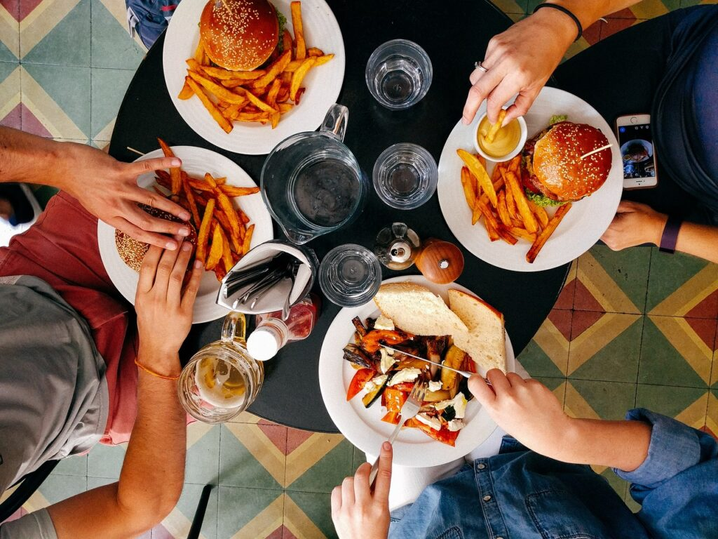 restaurant, people, men